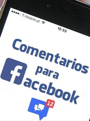 Comprar comentarios para Facebook