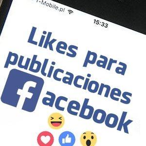 Comprar likes para publicaciones de Facebook