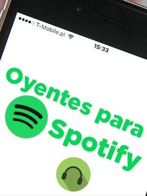 Comprar oyentes para Spotify