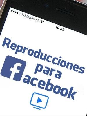 Comprar reproducciones para Facebook