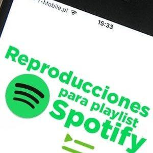 Comprar reproducciones para playlist de Spotify