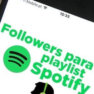 Comprar seguidores para playlist de Spotify