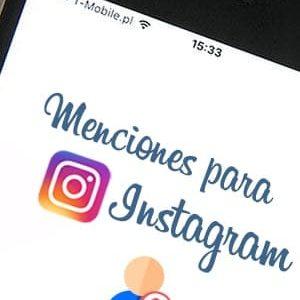 Comprar menciones para Instagram al mejor precio