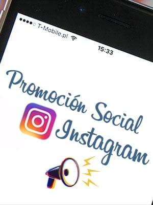 Comprar promociones sociales para tu publicaciones en Instagram
