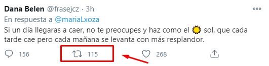 Reetweet para Twitter