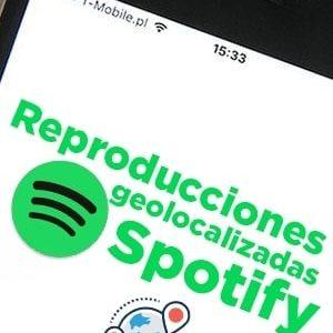 Comprar reproducciones geolocalizadas por país para temas de Spotify