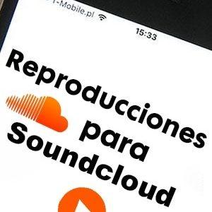 Comprar reproducciones o plays para Soundcloud