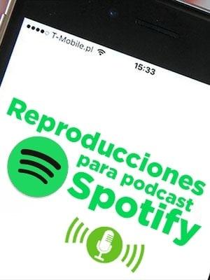 Comprar reproducciones para episodios de podcast para Spotify