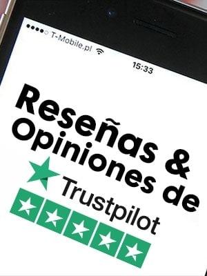 Comprar reseñas y opiniones de Trsutpilot