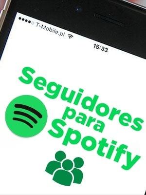 Comprar seguidores para Spotify