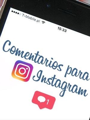 Comprar comentarios para Instagram