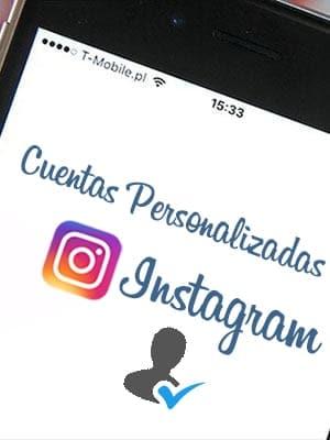 Comprar cuentas personalizadas de Instagram al mejor precio del mercado