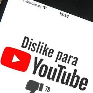 Comprar dislike para Youtube