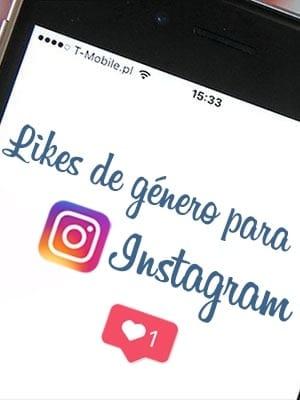Comprar likes de género para Instagram