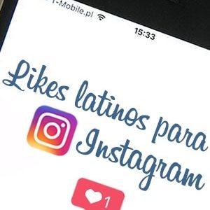Comprar likes latinos para Instagram