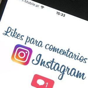Comprar likes para comentarios para Instagram