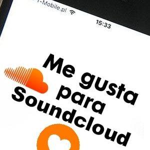 Comprar likes o me gusta para Soundcloud