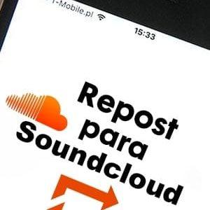 Comprar repost para Soundcloud