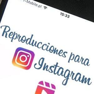Comprar reproducciones para Instagram