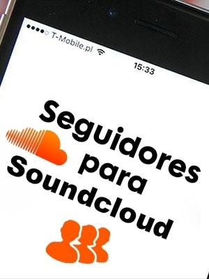 Comprar seguidores o followers para Soundcloud