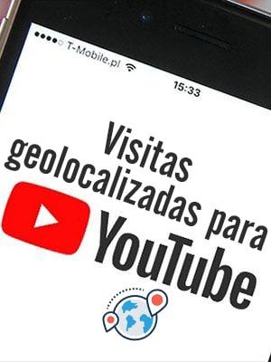 Comprar visitas geolocalizadas para Youtube