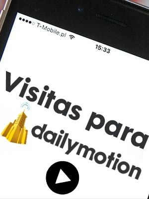 Comprar reproducciones / visitas para videos de Dailymotion