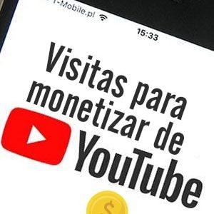 Comprar visitas para monetizar canales de Youtube