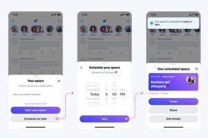 Como activar la opción de crear espacios de Twitter (Salas de audio)