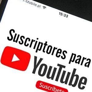 Comprar suscriptores para Youtube